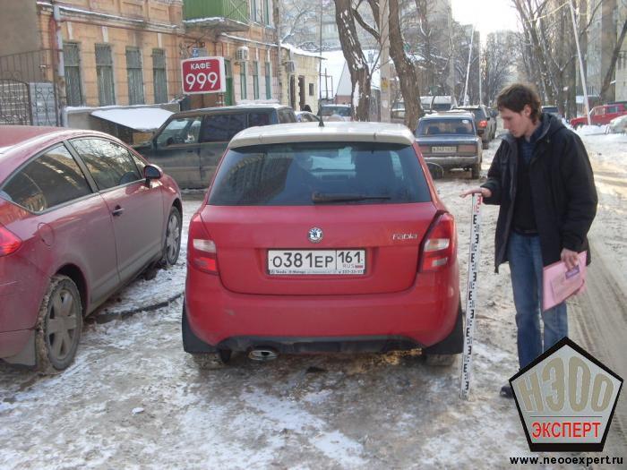 Перед тем, как предоставить автомобиль на независимую автоэкспертизу после ДТП, он должен быть тщательно вымыт...